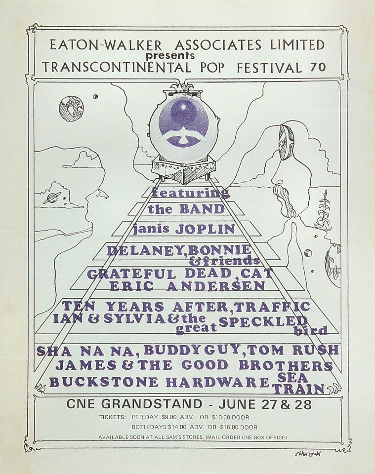 Festival Express Handbill