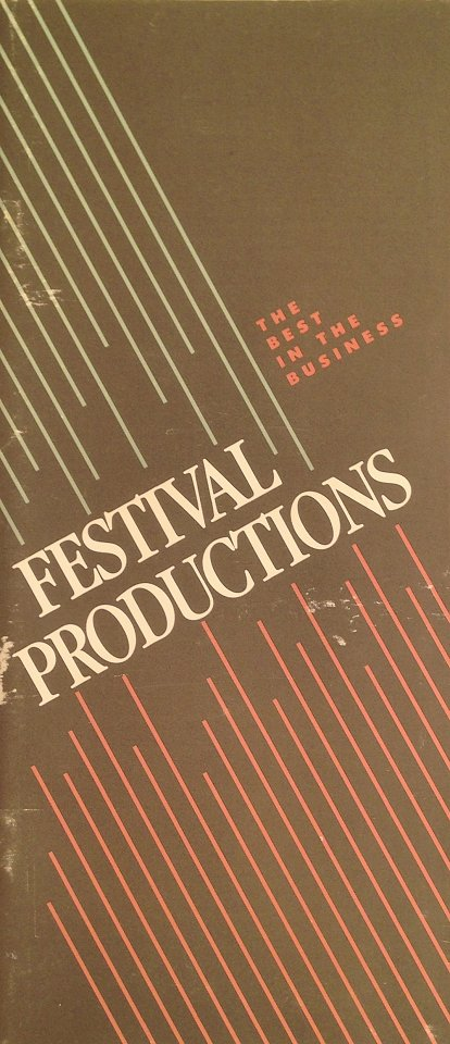 Festival Productions Program