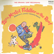"""Fiddler On The Roof - The Original Cast Recording Vinyl 12"""" (Used)"""