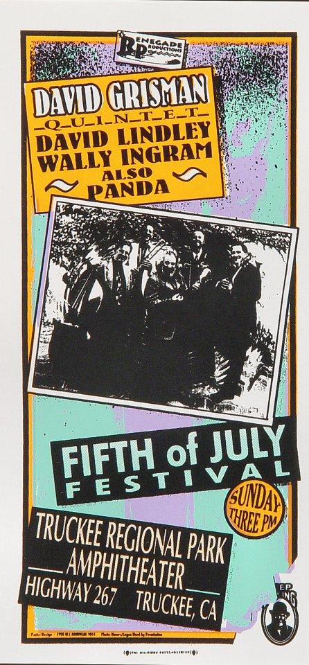 Fifth of July Festival Handbill
