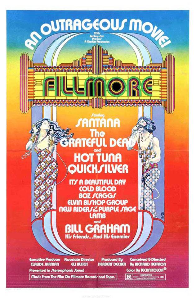Fillmore: Original Movie Poster