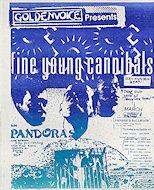 Fine Young Cannibals Handbill