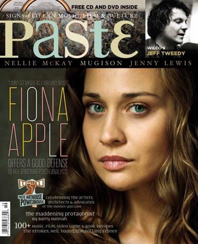 Fiona ApplePaste Magazine