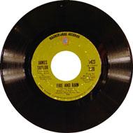 "Fire And Rain Vinyl 7"" (Used)"