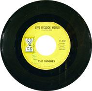 "Five O'Clock World Vinyl 7"" (Used)"