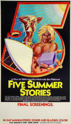 Five Summer Stories Poster