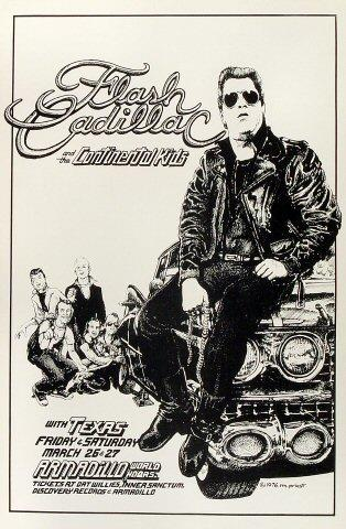 Flash Cadillac &amp; the Continental Kids Poster