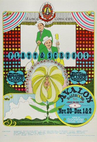 Flatt and Scruggs Poster