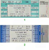 Fleetwood Mac 1980s Ticket