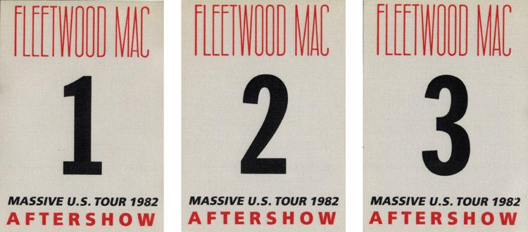 Fleetwood MacBackstage Pass