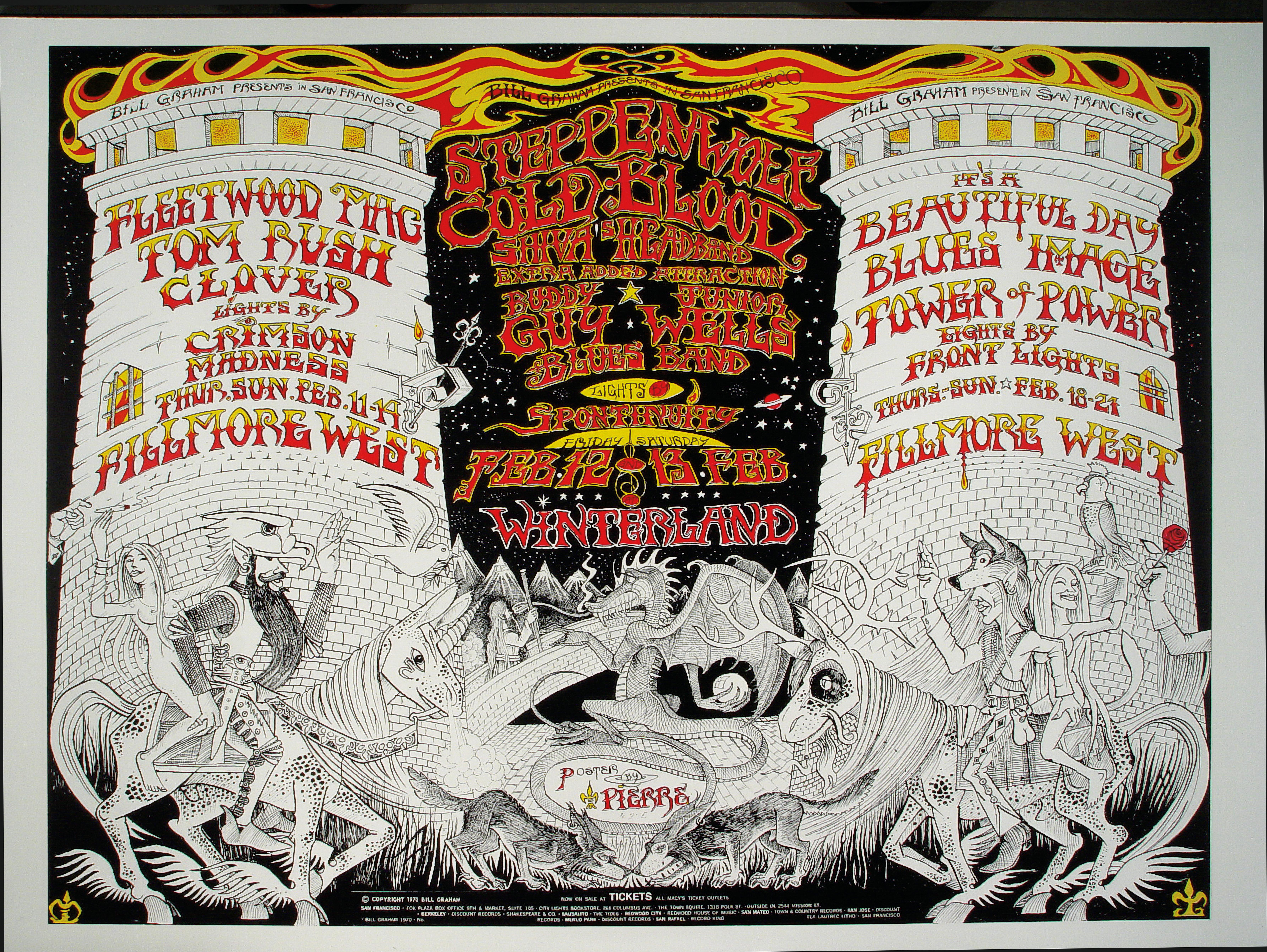 Fleetwood MacHandbill