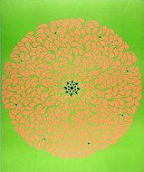 Floral Sun Poster