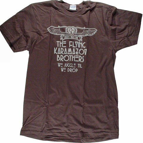 Flying Karamazov Brothers Men's Retro T-Shirt