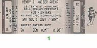 Foo Fighters 1990s Ticket
