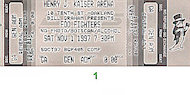 Foo Fighters Vintage Ticket