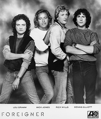 Foreigner Promo Print