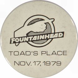 Fountainhead Vintage Pin