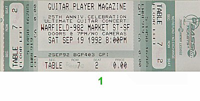 Frank Gambale 1990s Ticket