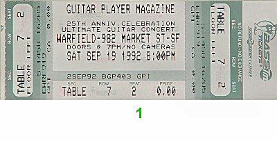 Frank Gambale1990s Ticket