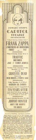 Frank Zappa Handbill