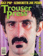 Frank Zappa Trouser Press Magazine
