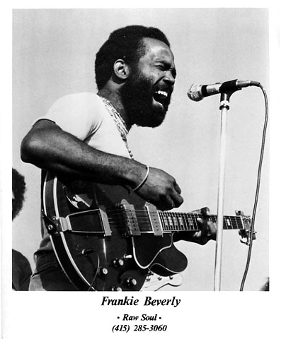 Frankie Beverly Promo Print