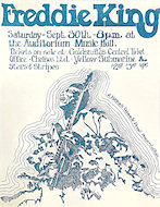 Freddie King Handbill