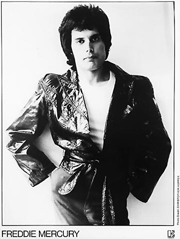 Freddie Mercury Promo Print