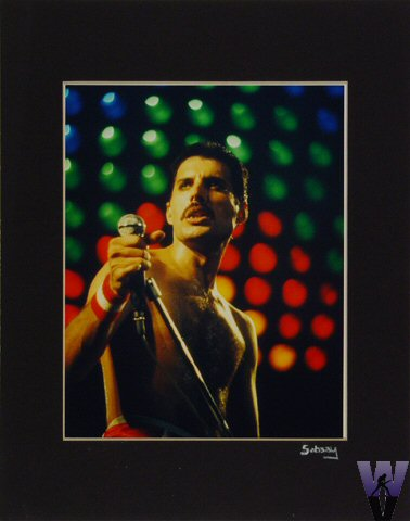 Freddie MercuryVintage Print