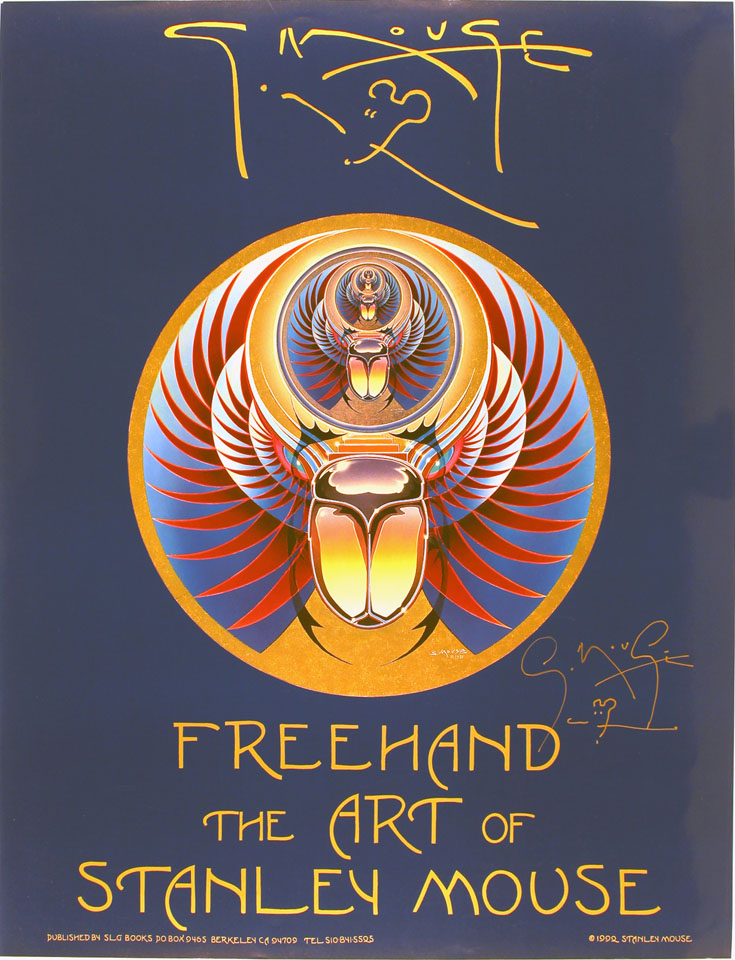 FreeHand: The Art of Stanley Mouse Poster