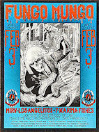 Fungo Mungo Handbill