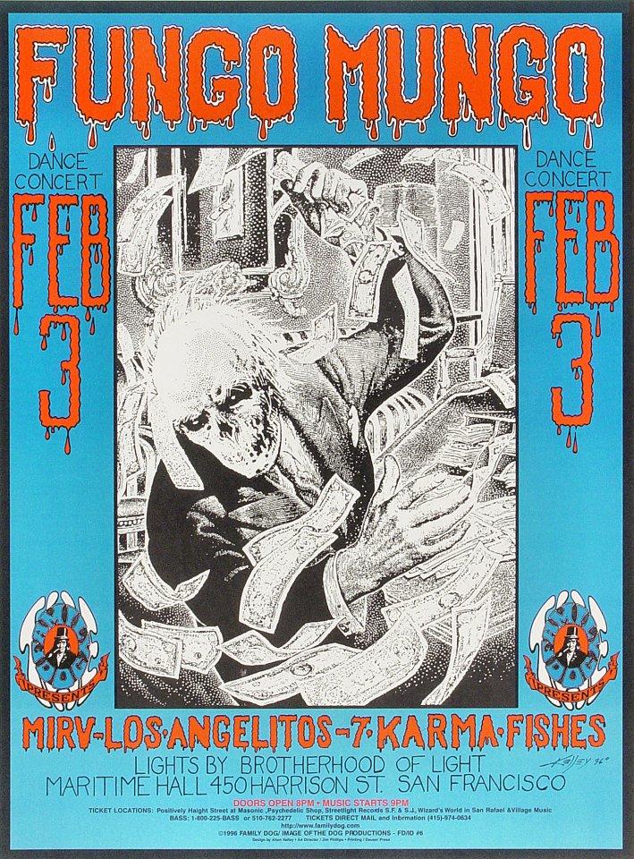Fungo Mungo Poster