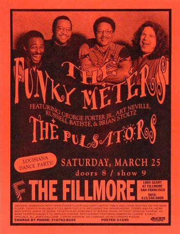 Funky Meters Handbill