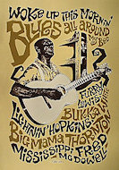 Lightnin' Hopkins Poster