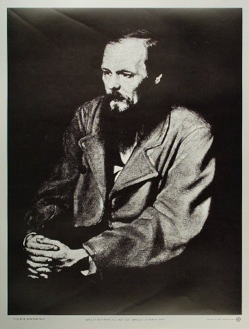 Fyodor Dostoevsky Poster
