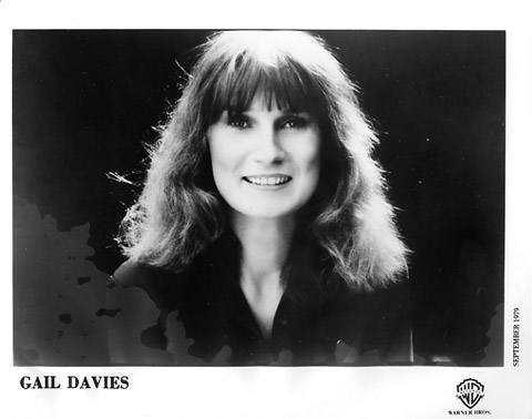 Gail Davies Promo Print