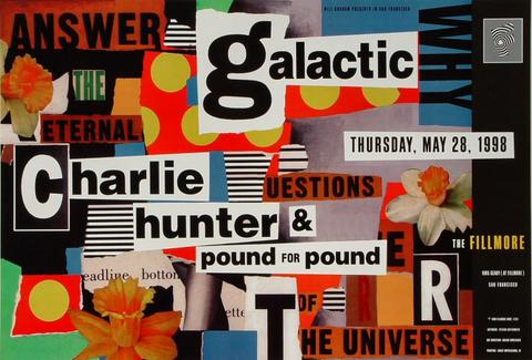 Charlie Hunter & Pound for Pound Poster