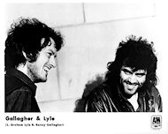 Gallagher &amp; Lyle Promo Print