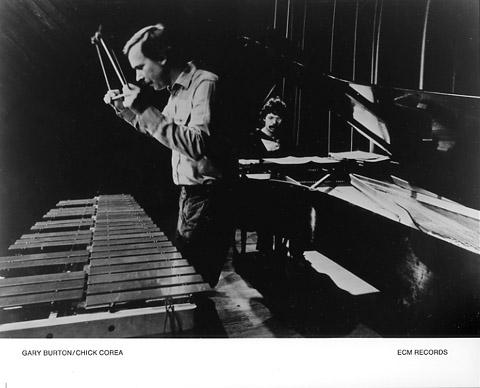 Gary Burton Promo Print