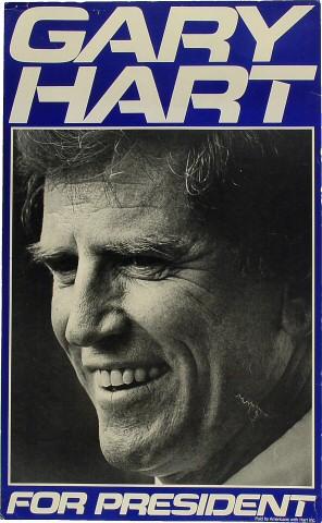 Gary Hart Poster