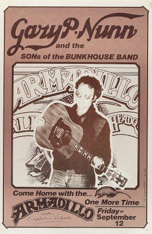 Gary P. Nunn Poster