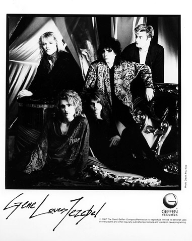 Gene Loves Jezebel Promo Print