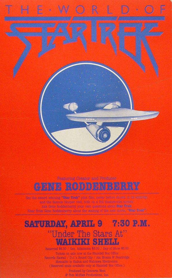 Gene RoddenberryPoster