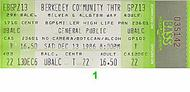 General Public 1980s Ticket