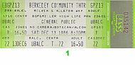 General Public 1980s Ticket