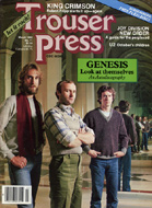 King Crimson Trouser Press Magazine