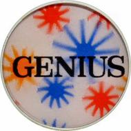 Genius Vintage Pin