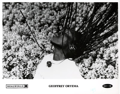 Geoffrey OryemaPromo Print