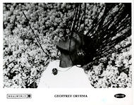 Geoffrey Oryema Promo Print