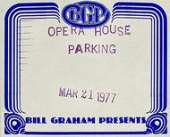 George Benson Backstage Pass